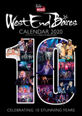 2020 Calendar - West End Bares 2019 10th Anniversary Edition