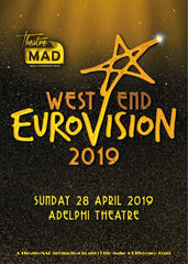 West End Eurovision 2019 Souvenir Brochure