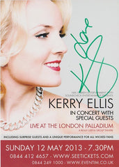 Kerry Ellis - Large Promo Postcard (Signed)