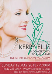 Kerry Ellis - Small Promo Postcard (Signed)