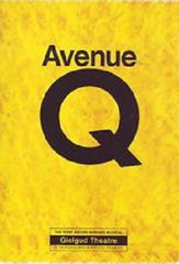 Avenue Q - Noe Coward Theatre - London Programme