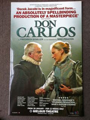 Don Carlos - Theatrical Poster (Not Signed)
