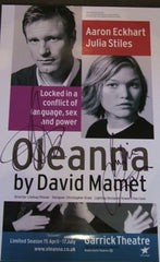 Oleanna - Signed Poster