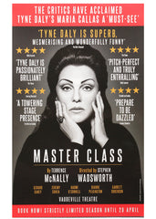 Master Class (version2) theatrical poster