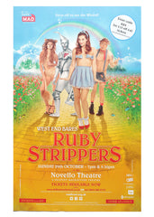 Ruby Strippers West End Bares - theatrical poster