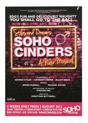 Soho Cinders -  theatrical poster
