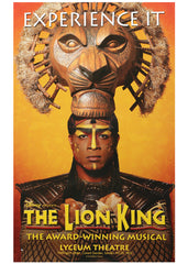 The Lion King (poster2 Experience It) theatrical poster