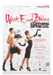 West End Bares (clothing optional) 2011 - Signed Theatrical Poster