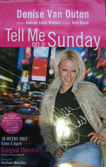 Tell Me on a  Sunday (Pink)  - Signed Poster