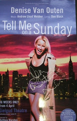 Tell Me on a Sunday (Purple) - Signed Poster