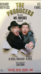 The Producers (Dreyfuss and Evans) - Theatrical Poster