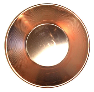 10 in. Copper Gold Pan