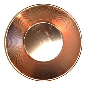 Small Copper Gold Pan, 7 in.