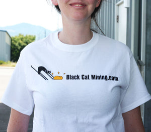 Black Cat Mining T-Shirt
