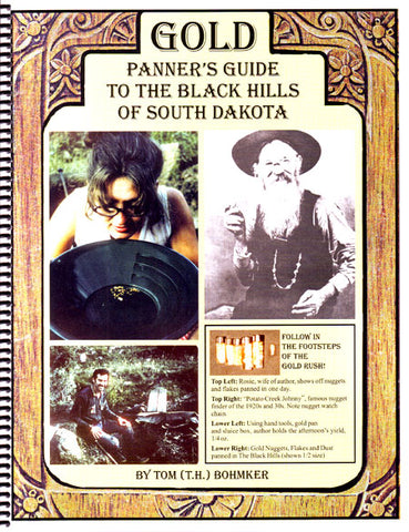 Gold Panner's Guide to the Black Hills of South Dakota