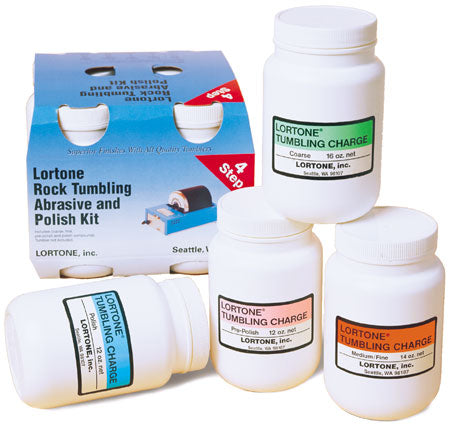 Lortone Rock Tumbling Abrasive and Polish Kit
