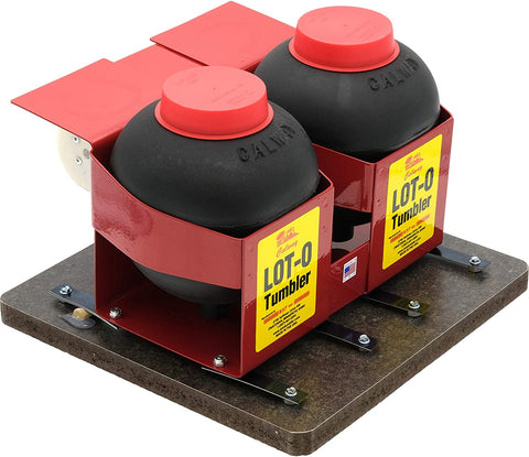 Lot-O-Tumbler Twin Barrel Vibrating Rock Tumbler