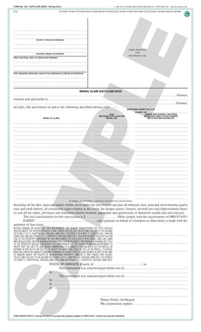 Quitclaim Deed (Oregon) #108