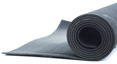 Ribbed Rubber Matting per inch x 48