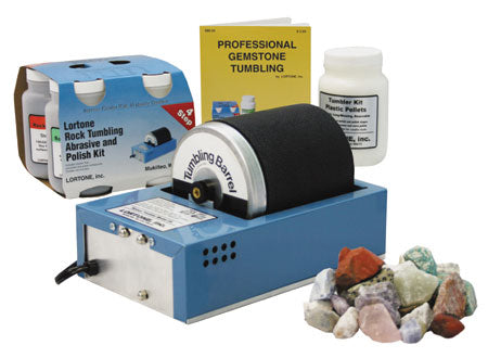 Lortone 3A Rock Tumbling Kit