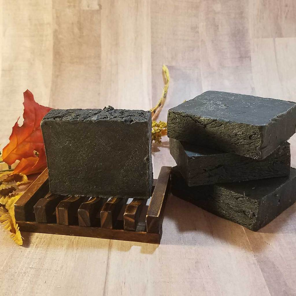 Activated Charcoal Handmade Soap (Unscented)
