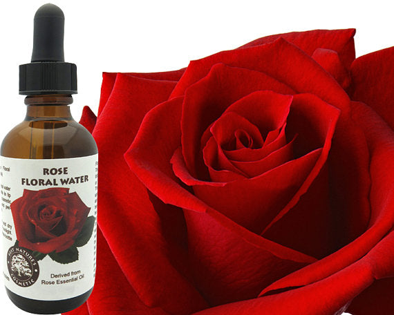 Rose Floral Water (Hydroflorate or Hydrosol)