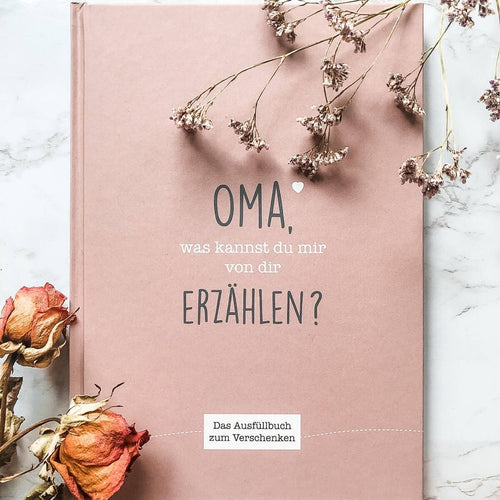 Oma Erzählbuch - Cupcakes & Kisses