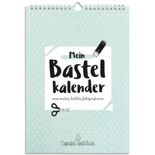 Laden Sie das Bild in den Galerie-Viewer, Wandkalender - Cupcakes & Kisses