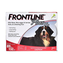 Load image into Gallery viewer, frontline_plus_for_extra_large_dogs_over_89_lbs_red_easyvetsupplies