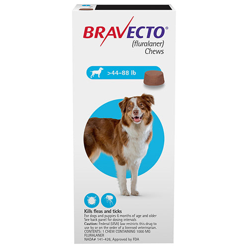 bravecto_chews_large_dogs_44_88_lbs_Blue_easyvetsupplies