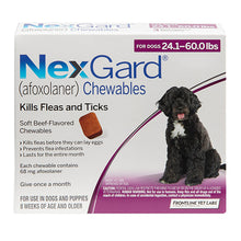Load image into Gallery viewer, Nexgard for Large Dogs 24.1-60 lbs (Purple)