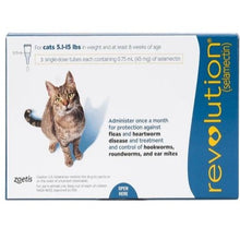 Load image into Gallery viewer, revolution_for_cats_5_15_lbs_blue_easyvetsupplies
