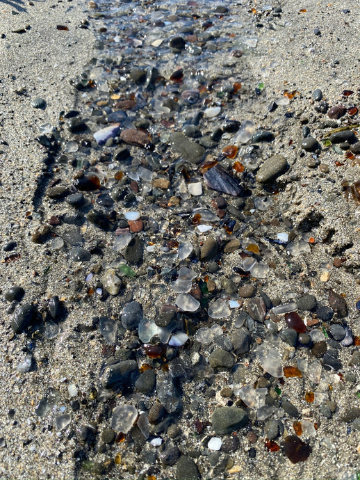 Fort Bragg sea glass beach trip review!