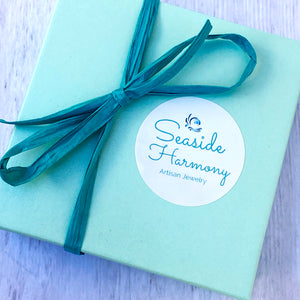 seaside harmony gift box with bow