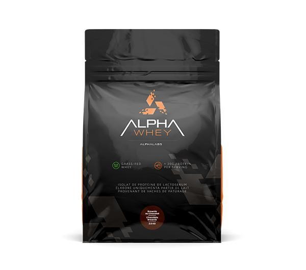 Alpha Whey - 100% Protein Isolate