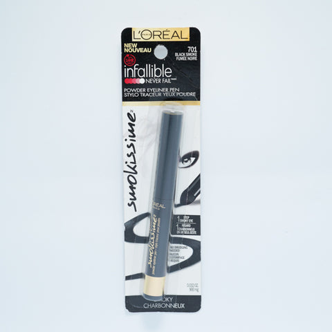 Loreal Eye Liner Infallible Never Fail 701