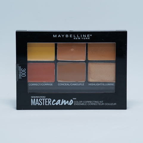 Maybelline Contour Pallete Face Studio Master Camo Color Correcting Kit 300