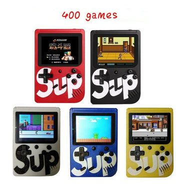 Mini Retro Handheld Game Console System 400 Games In 1 Built In Color USA Ship