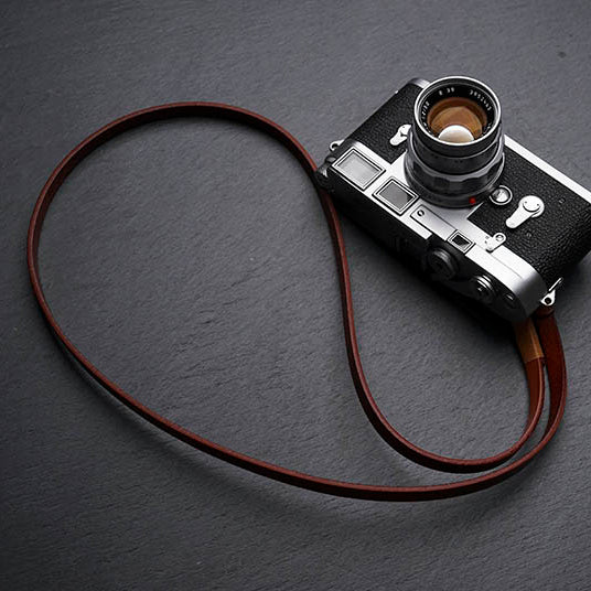 leather strap for camera