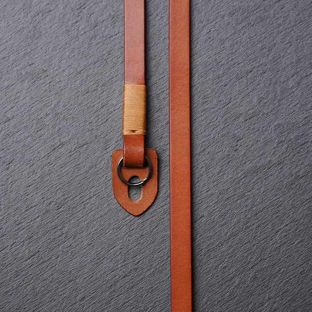 Comder Light coffee Leather camera strap