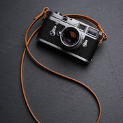 Comder leather camera strap Natural color