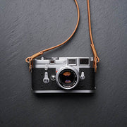 natural leather camera strap Natural