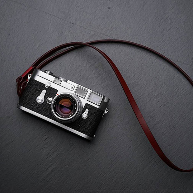 Comder leather camera strap