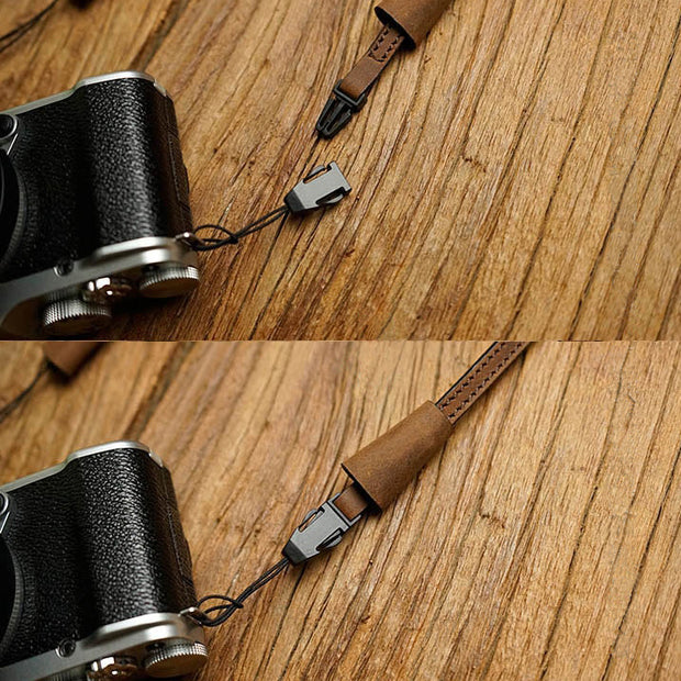 camera strap in Horse color