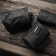 black bags Towell leather camera case