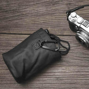 medium leather camera case bag
