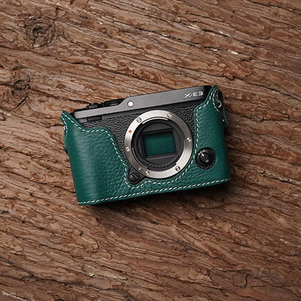 half case for Fuji X-E3 Green