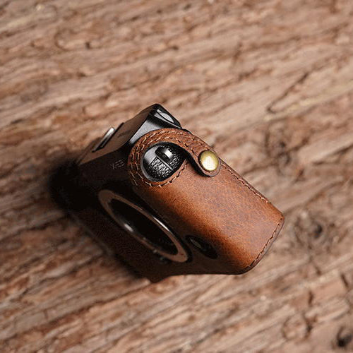 horse color camera half case for camera