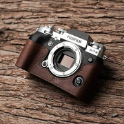 Brown Leather case for X-T3