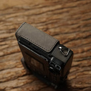 Leather half case <br>for Fuji X-PRO3 Gray
